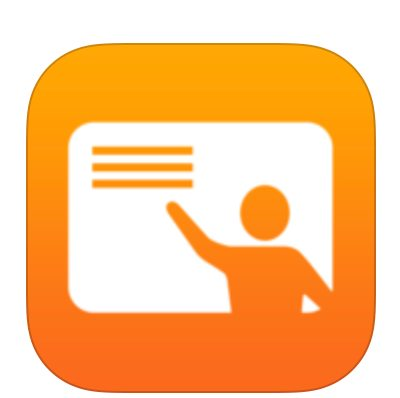 symbol for apple classroom-teacher pointing to 3 lines