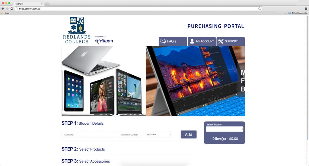 estorm Purchasing Portal