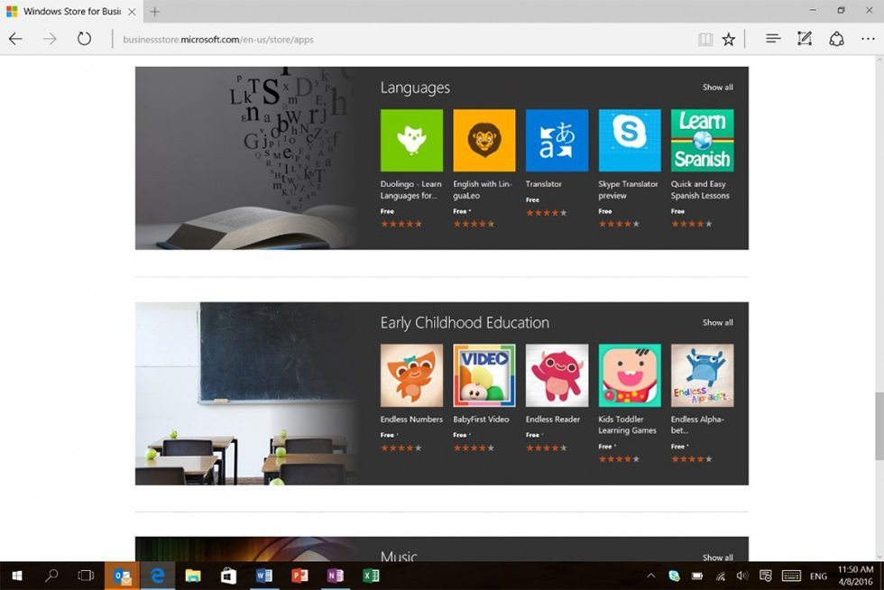 education ready windows store