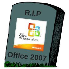 Bye Bye Office 2007