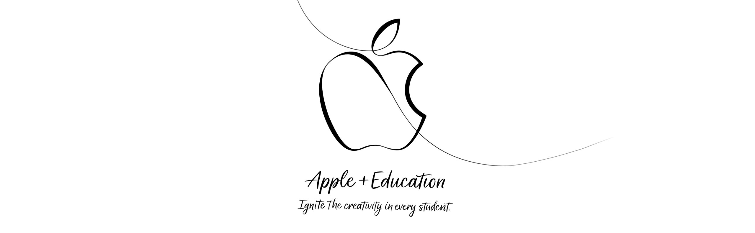 apple education event banner