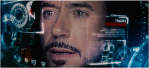 Iron Man Heads Up Display