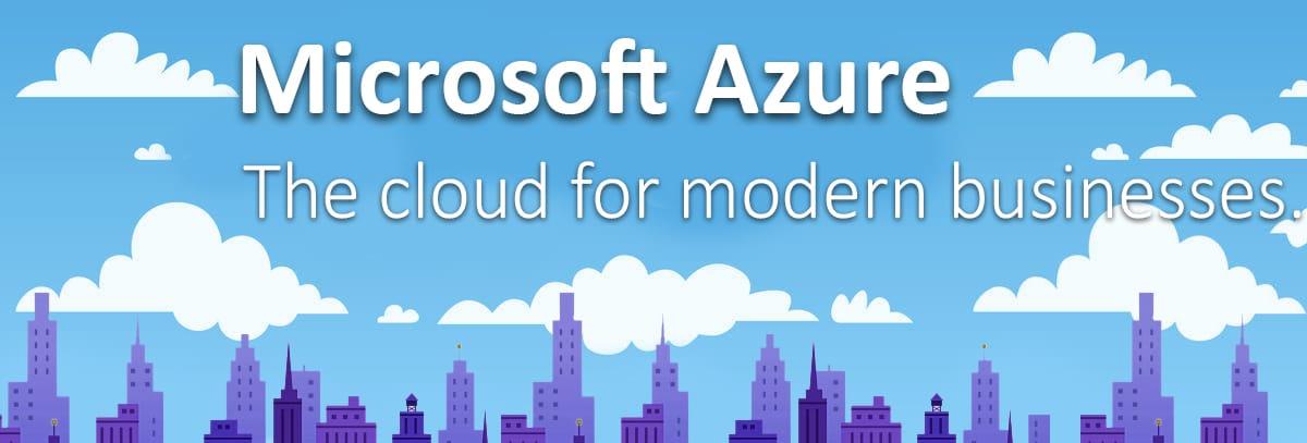 Microsoft Azure The Cloud for modern businesses eStorm Australia Managed IT Services