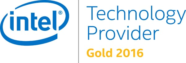 Intel Gold Logo eStorm Australia Partner